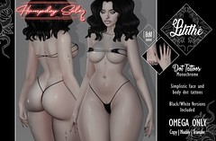 Lilithe'// Dot Tattoos - Monochrome - Humpday Sale