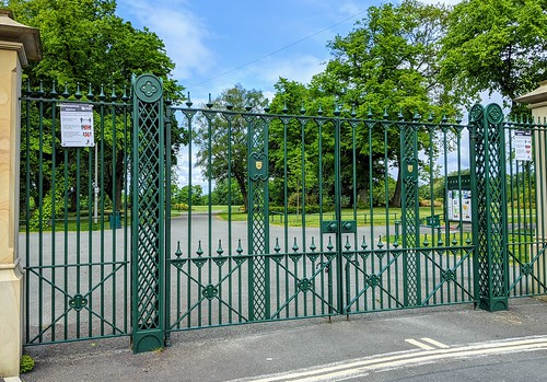 Gates to Moor Park, Preston | by Tony Worrall