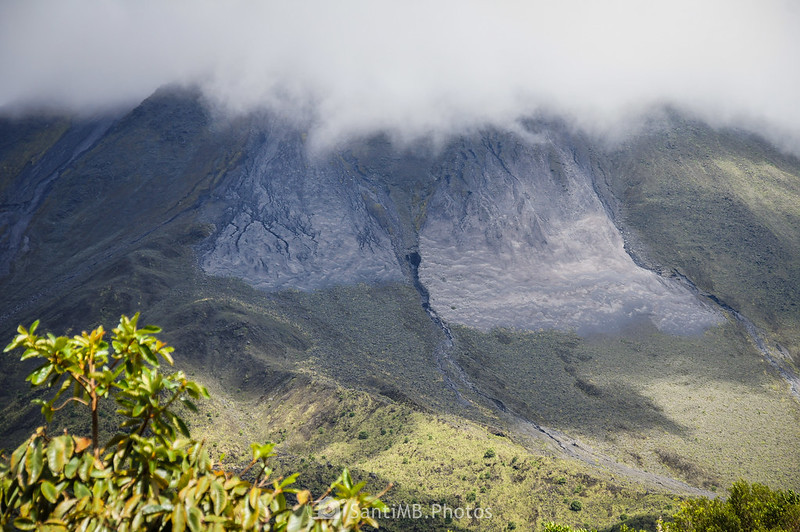 Ladera oeste del Volcán Arenal