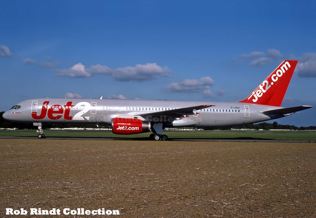 Jet2 Airways B757-236 G-LSAA
