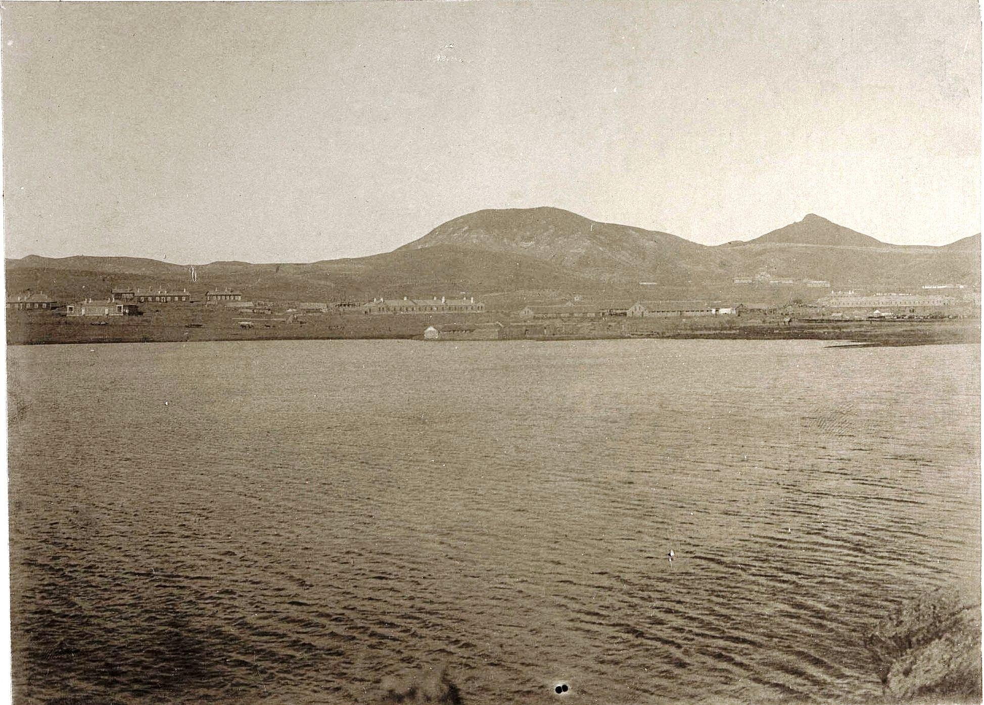 Порт-Артур. Полупресное озеро. 1900