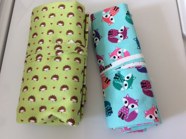 Baby flannel blankets