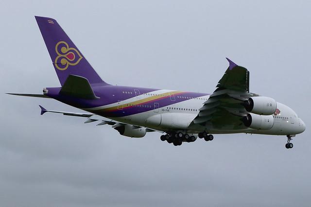 HS-TUE | Airbus A380-841 | Thai Airways International