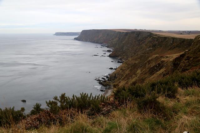 The coast near Gardenstown
