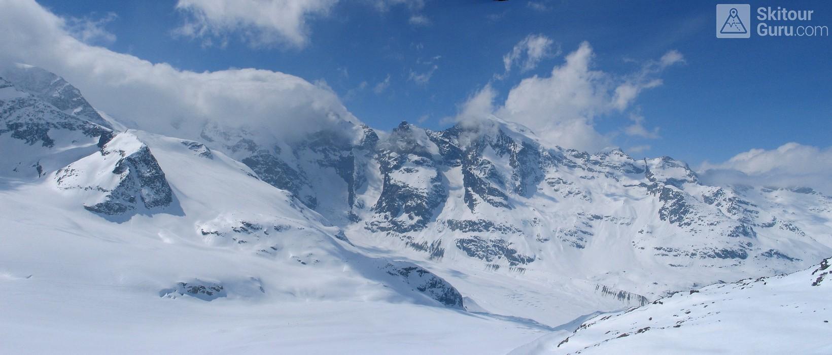 Diavolezza Berghaus Bernina Switzerland panorama 34