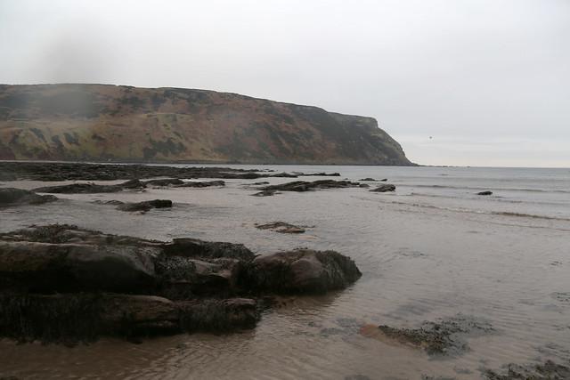 The beach at Gardenstown