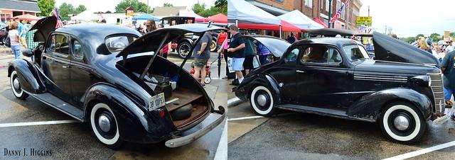 Depot Days Car Show. Amboy, Illinois. 2017. 002