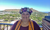 Honolulu CC spring 2020 graduate Kainani Wills celebrates her associates degree with honors and a certificate in psychology.