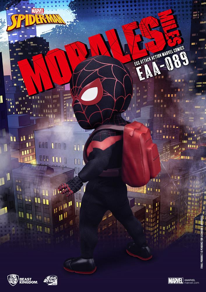 野獸國 Egg Attack Action 系列 MARVEL Comics【邁爾斯·摩拉斯】Miles Morales EAA-089