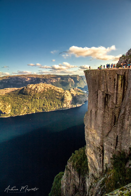Lysefjord - Preikestolen, The Pulpit Rock (Norway)