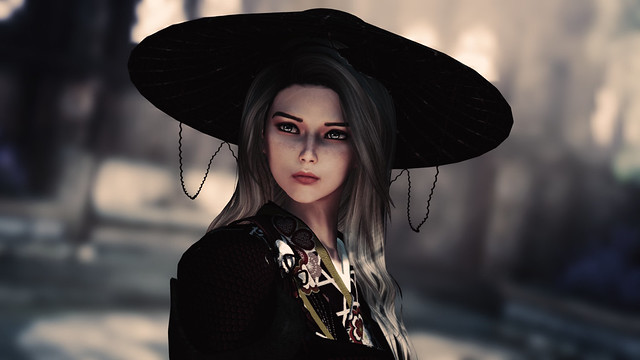 Alexa samurai cosplay
