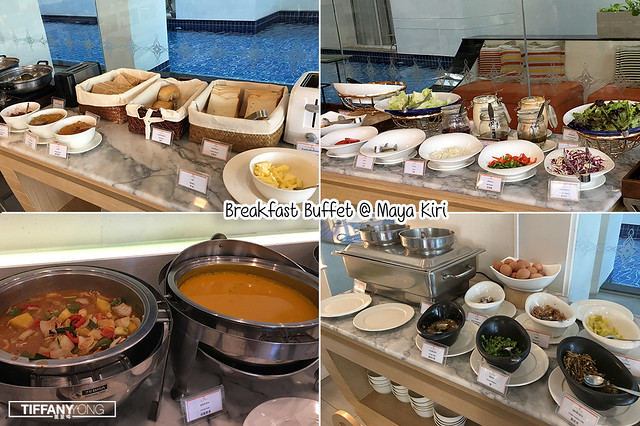 Baisirimaya Hotel Breakfast Buffet Spread 1