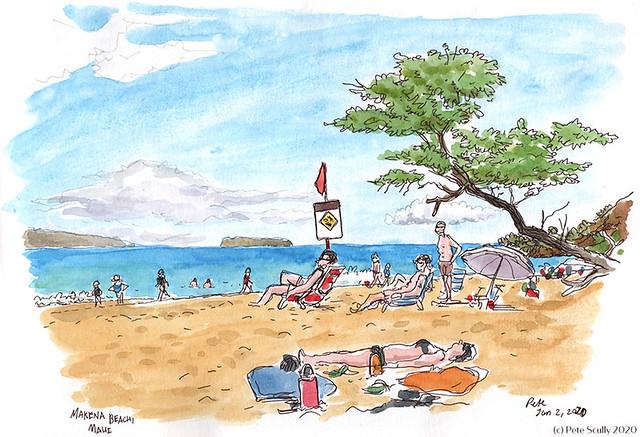 Makena Beach Maui 010220 sm