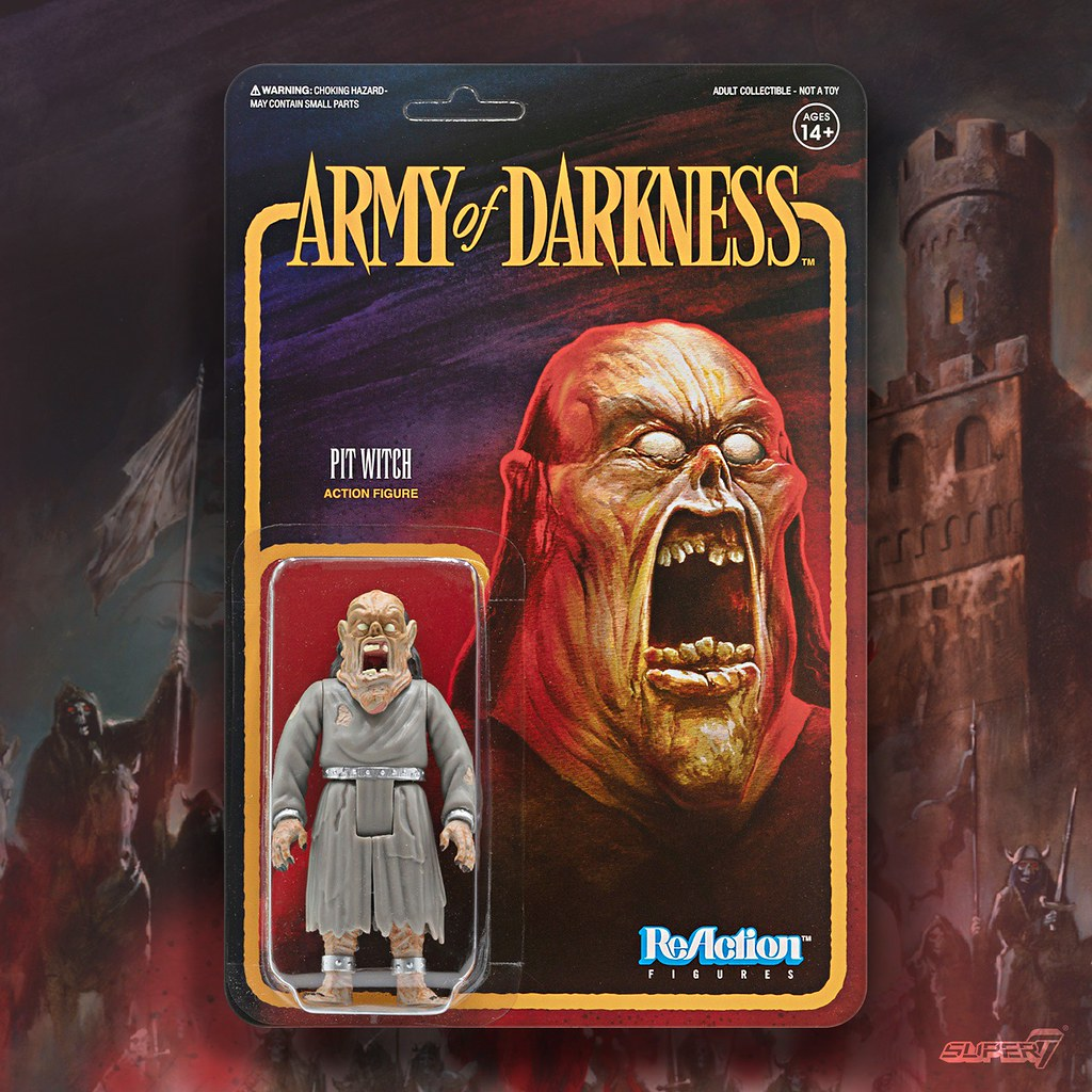 穿梭到中世紀的惡鬼斬殺者! Super7 ReAction Figure 系列《魔誡英豪》Army of Darkness 多款角色公開!