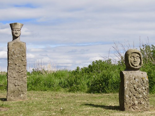 The stone people on Cottam Way | by vintage vix - Everything is a miracle