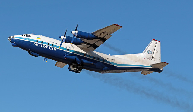 UR-11819 LMML 19-05-2020 Motor Sich Airlines Antonov An-12BK cn 634400905-2020