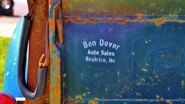 Ben Dover Auto Sales.