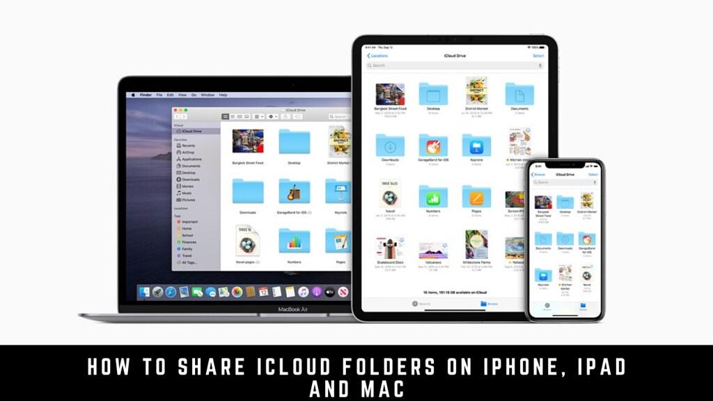 How to share iCloud folders on iPhone, iPad and Mac