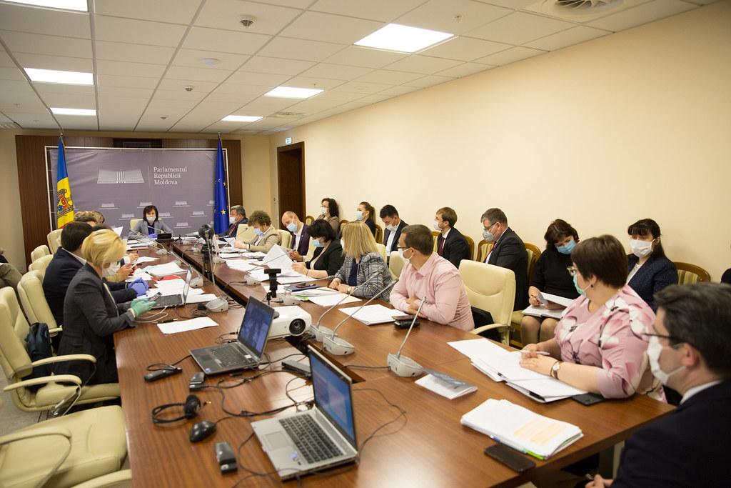 20.05.2020 Ședința Comisiei protecție socială, sănătate și familie