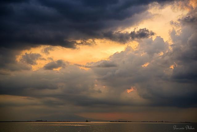 Manila Bay at Sunset