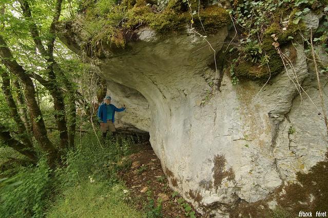 grotte des grimpeurs - Refranche