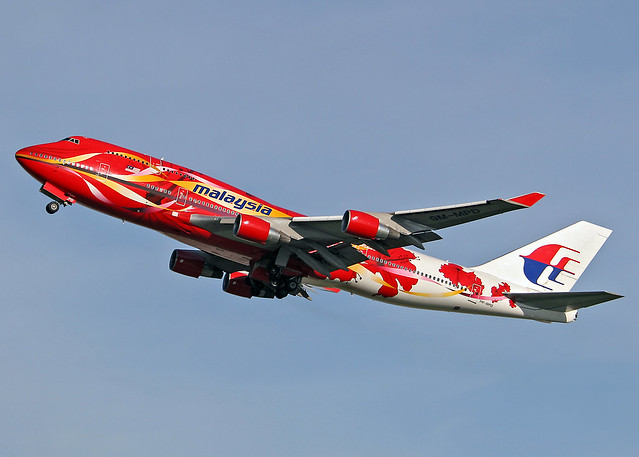 9M-MPD Boeing 747-4H6 Malaysian Airlines