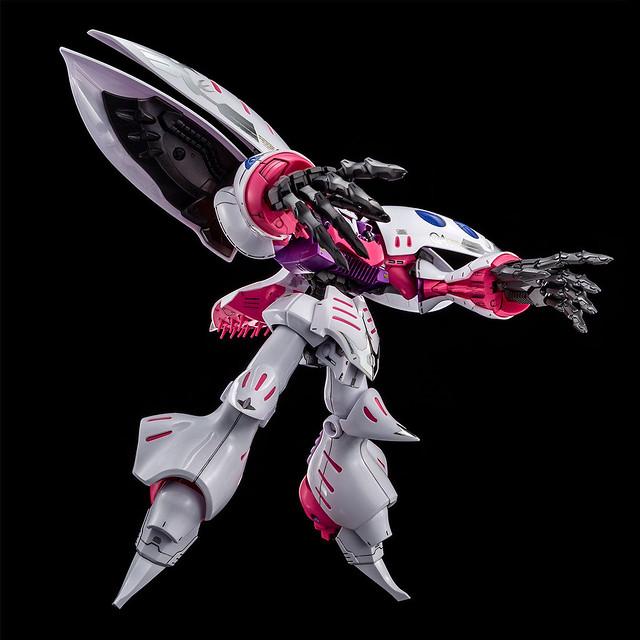 更加美麗的薔薇 MG 1/100《鋼彈創鬥者潛網大戰GBWC》丘貝雷.Embellir(キュベレイ・アンベリール)【PB限定】