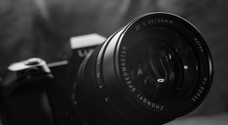 ZHONG YI OPITCS SPEEDMASTER 50mm F0.95 III EF + LUMIX S1R