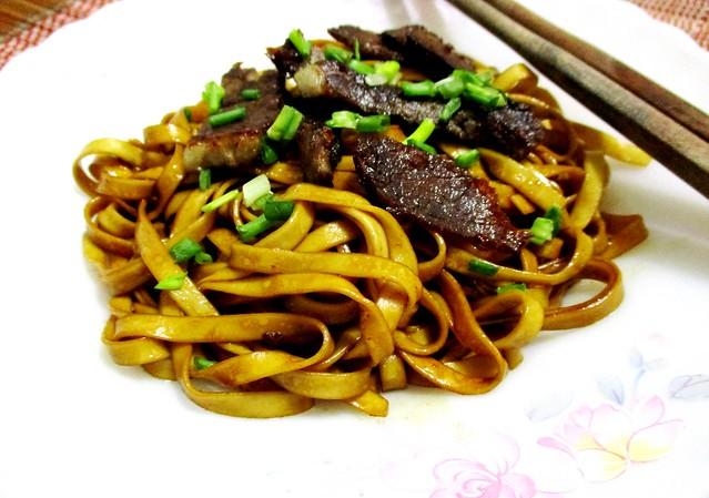 The Kitchen Food Sibu instant meepok