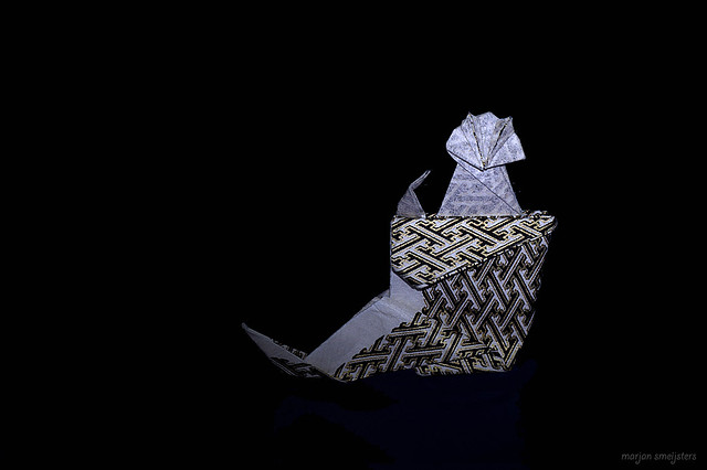 Origami 'Puss in Boots' (Fred Rohm)