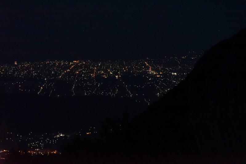 伊吹山から眺める夜景