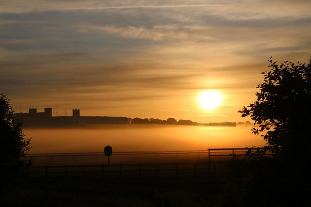 Sunrise, York Knavesmire