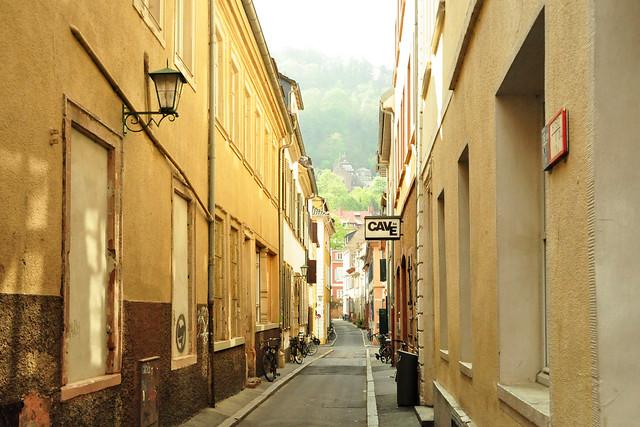 Mai 2020 ... Spaziergang in der Heidelberger Altstadt ... Foto: Brigitte Stolle
