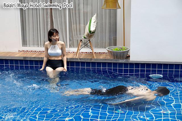 Baisirimaya Hotel Swimming Pool Tiffany Yong