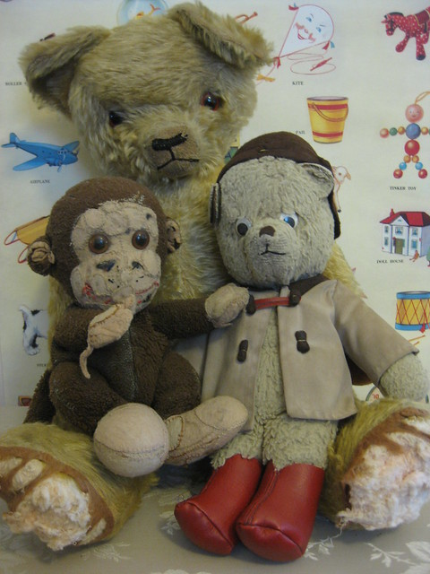 Paddy, Chippy and Big Growly Bear: Companions from Childhood