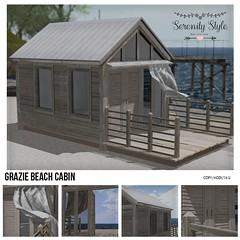 Serenity Style- Grazie Beach Cabin