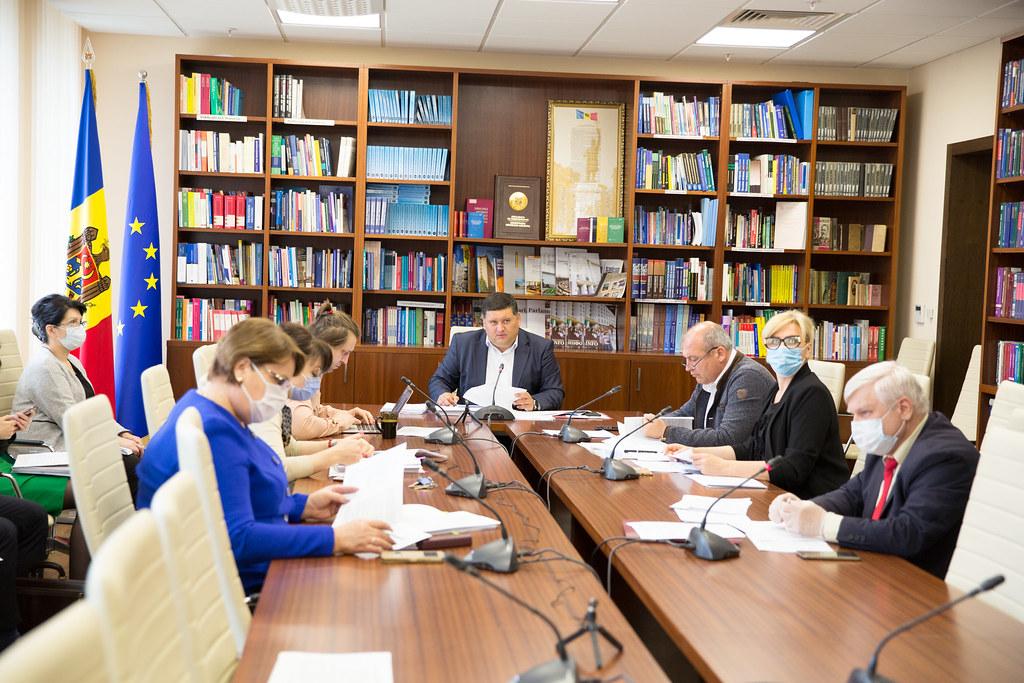 20.05.2020 Ședința Comisiei economie, buget și finanțe