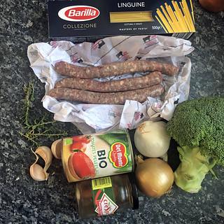 Pâtes aux saucisses et brocoli2