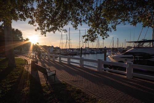 sunset water bradenton florida marina boat boating summer sun bradentonflorida fl fla twindolphin river manatee