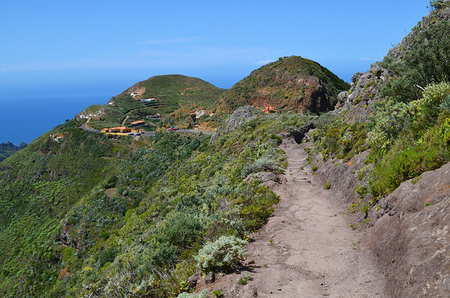 Path to Chinamada, Anaga, Tenerife