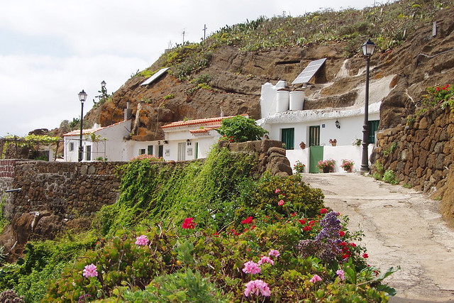 Cave houses at Chinamada, Anaga, Tenerife
