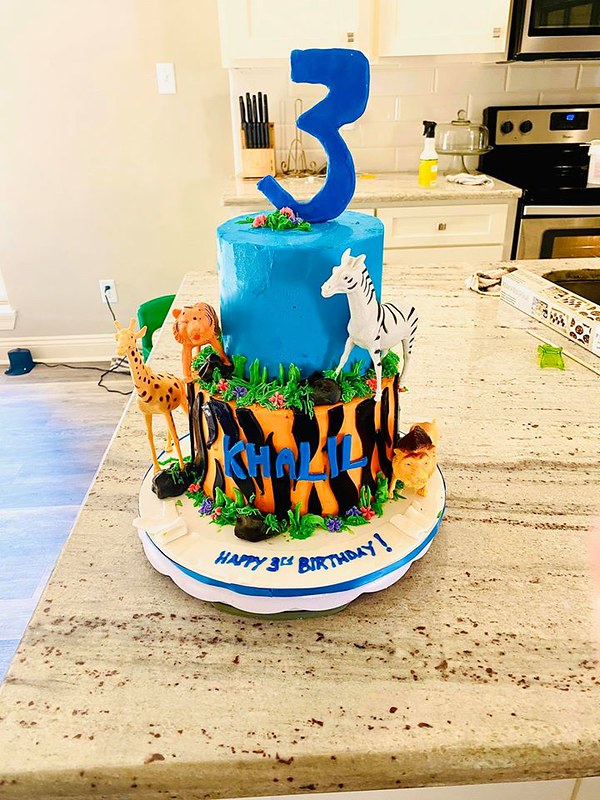 Cake by Cakes with Grace