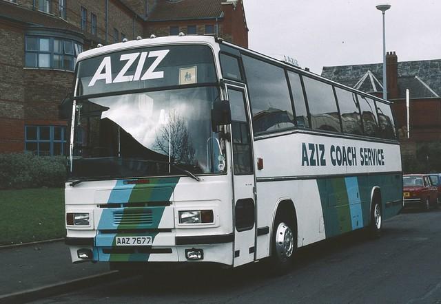AAZ7677 Dennis Dorchester/Plaxton - Aziz Coach Service, Birmingham