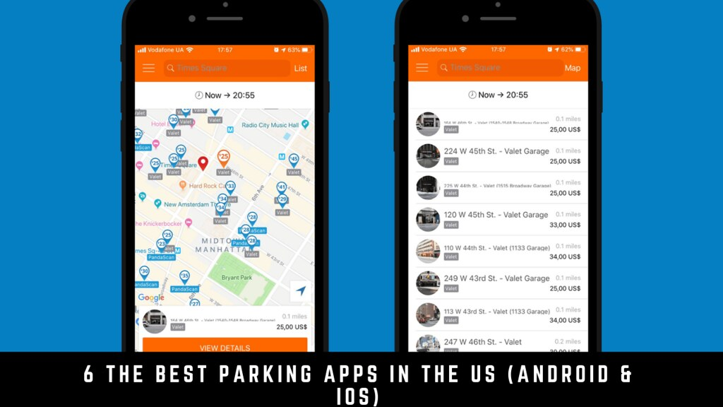 6 The Best Parking Apps In The Us (Android & iOS)