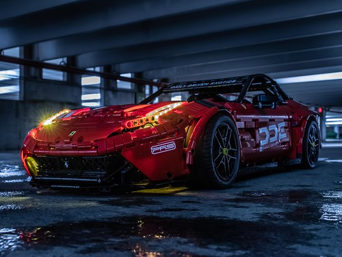 The underground Ferrari F12 photos courtesy @lego_tactics check it @Loxlego