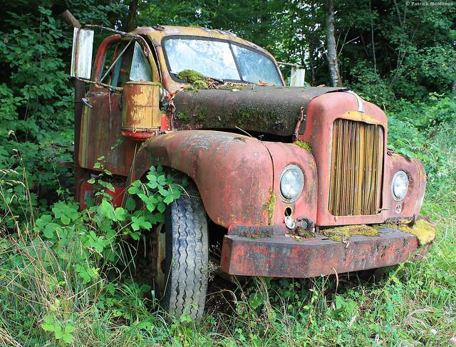 Abandoned - Logging Truck - Washington State