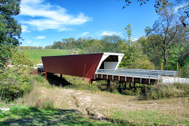 Cedar covered bridge, Bridges of Madison county, Iowa