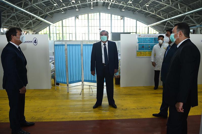 Боздид аз як қатор иншооти таъиноти соҳаи тандурустӣ дар шаҳри Душанбе 20.05.2020