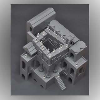 MC Escher - Ascending Descending