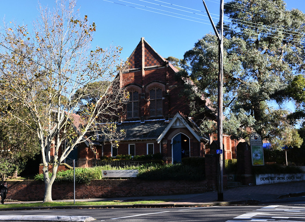 Crows Nest Uniting Church, Crows Nest, Sydney, NSW.